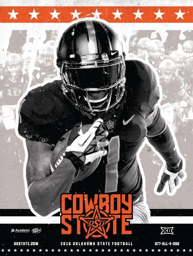Oklahoma State Football Football Poster Oklahoma State Football