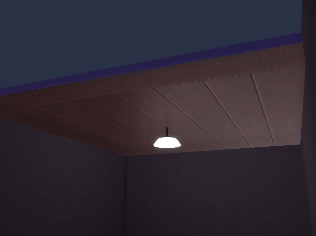 new meshes to decorate both floor and ceiling