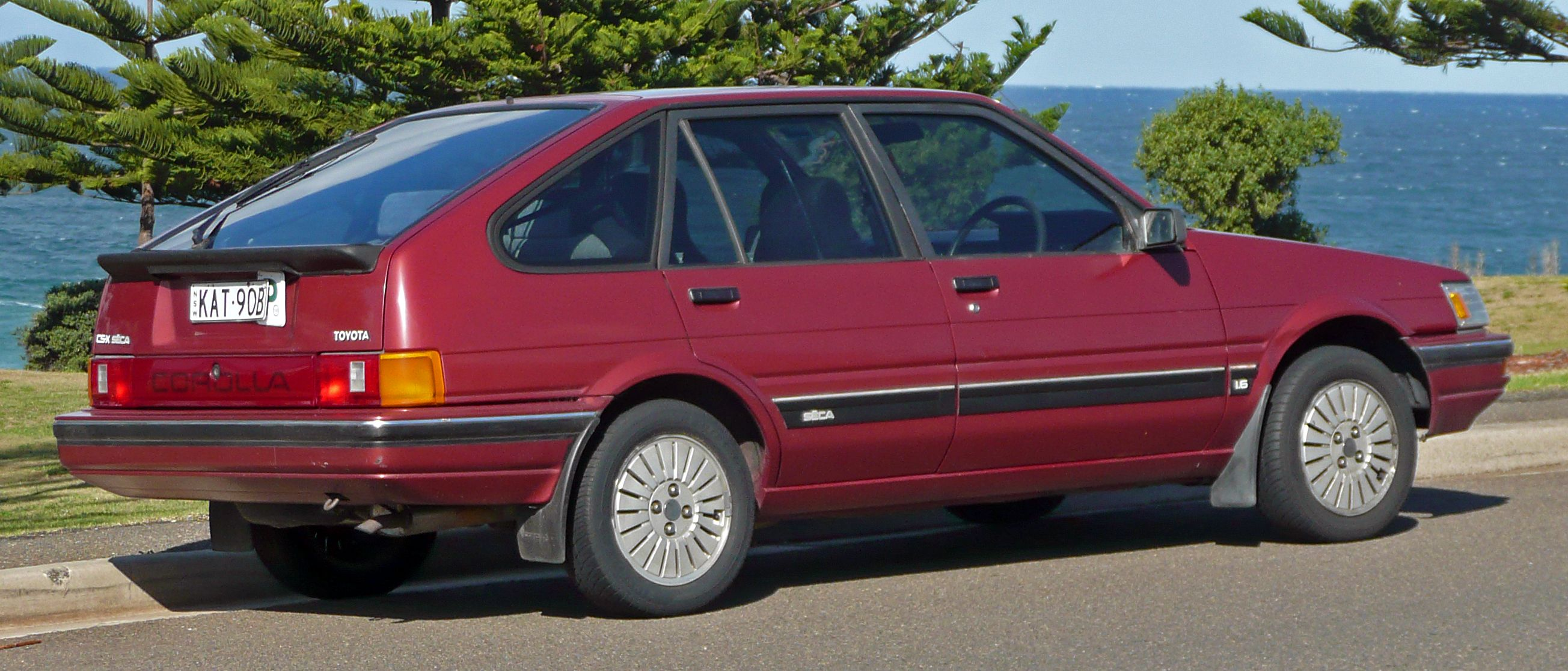 1986–1989 Toyota Corolla (AE82) CSX Seca liftback