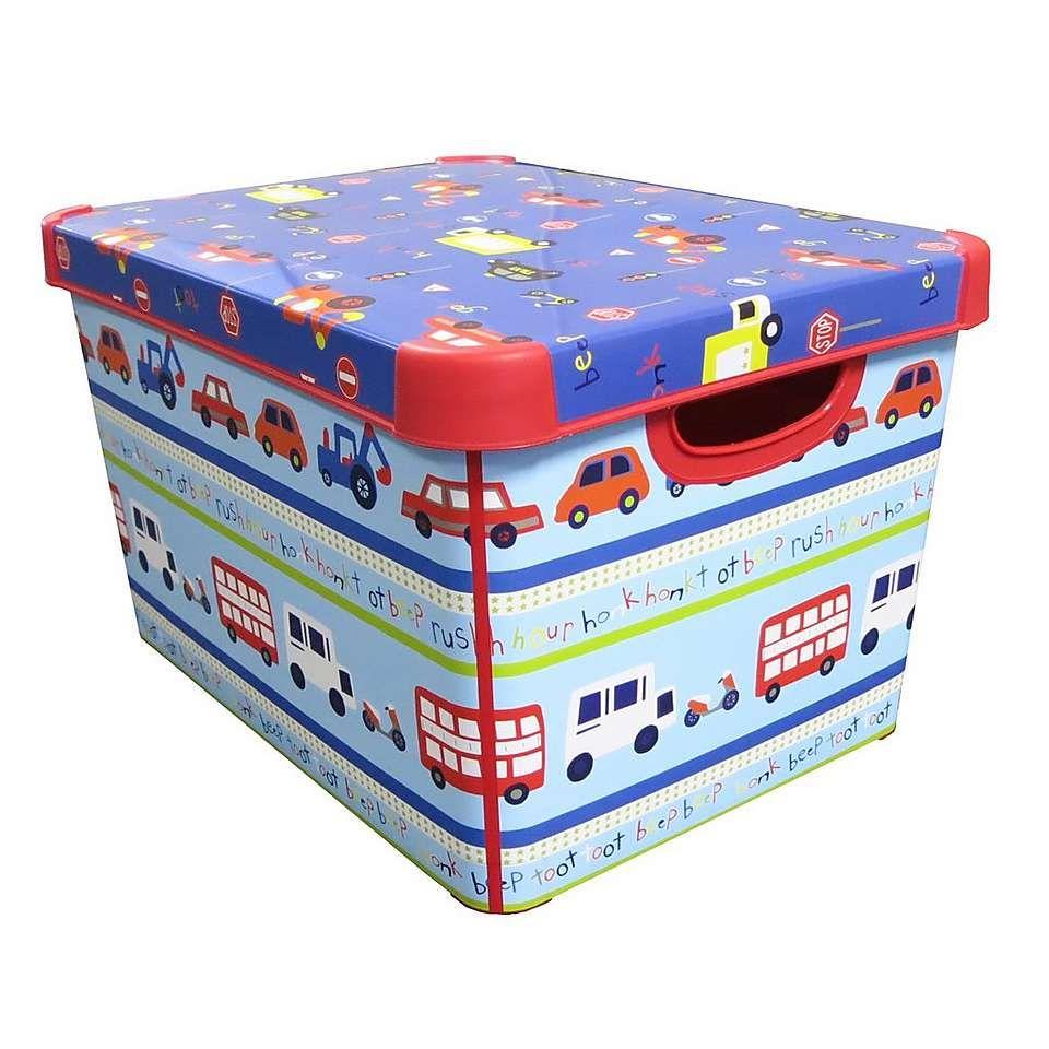 transport storage box | dunelm | boy bedrooms | kids storage