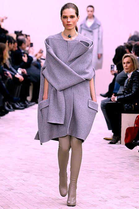 the self-hugging dress. Céline FW13