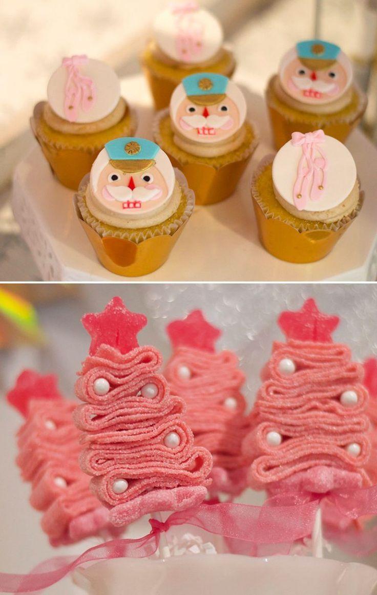 Nutcracker Ballet Cupcakes for Party