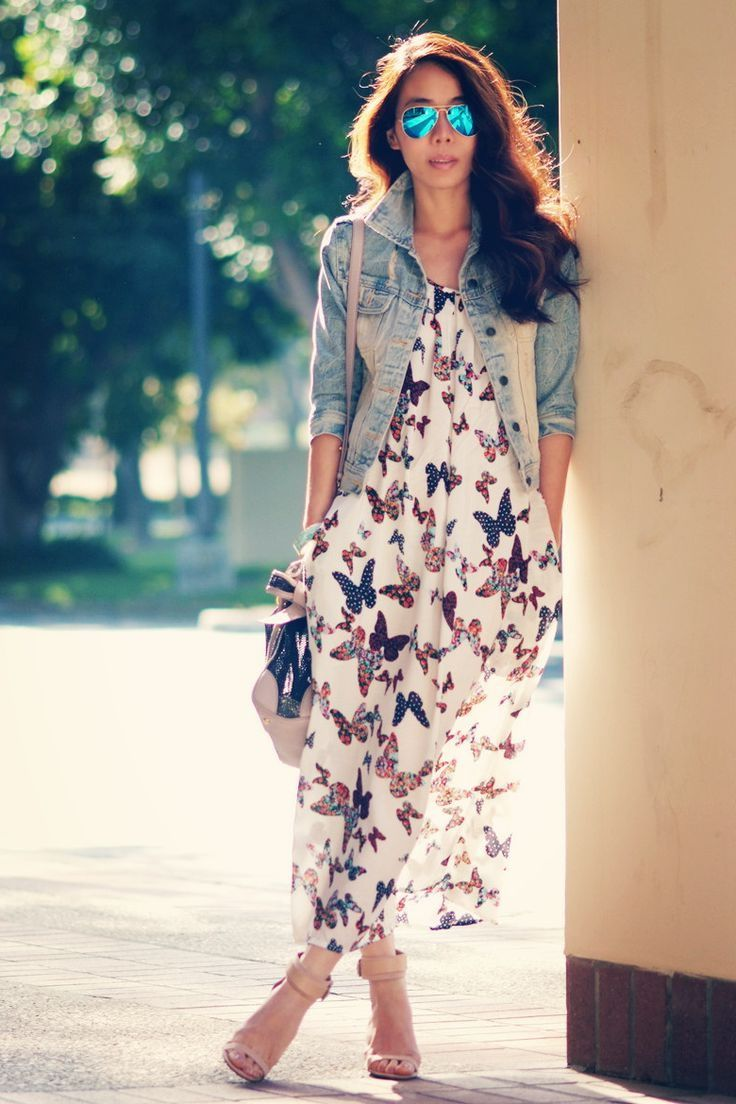 Buterfly summer maxi dresses outfitsbible the perfect maxi