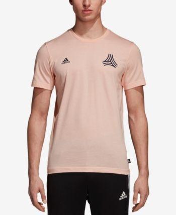 adidas Men's Tango Soccer T Shirt Pink M | Adidas men
