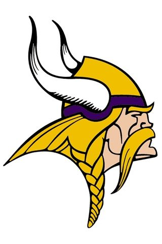 Minnesota Vikings Logo i wanted this dude in my new quilt! love - new football coloring pages vikings