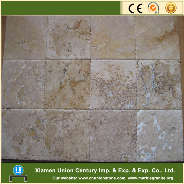 China Outdoor Beige Travertine Tile Stone Marble Price Product On Alibaba