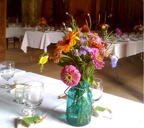 Mason Jar Fall Flower Arrangements Google Search