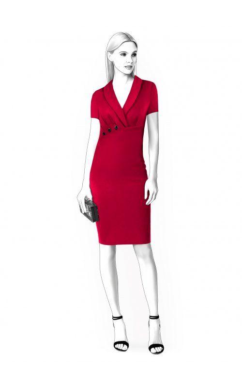 Выкройки на индивидуальные размеры | платья | Pinterest | Patrones ...