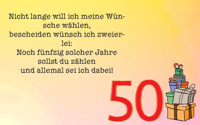 Lustige Geburtstagswunsche Zum 50sten Fresh Lustige