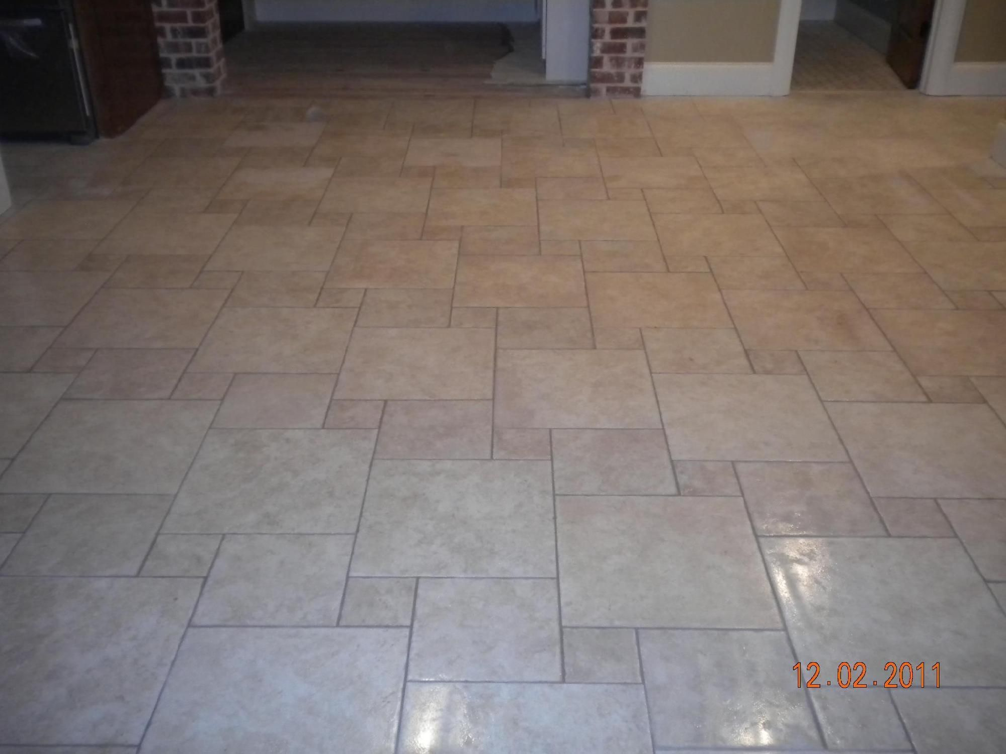 Kitchen Floor Tile Patterns Floor Pinwheel Kitchen Floor Kitchen