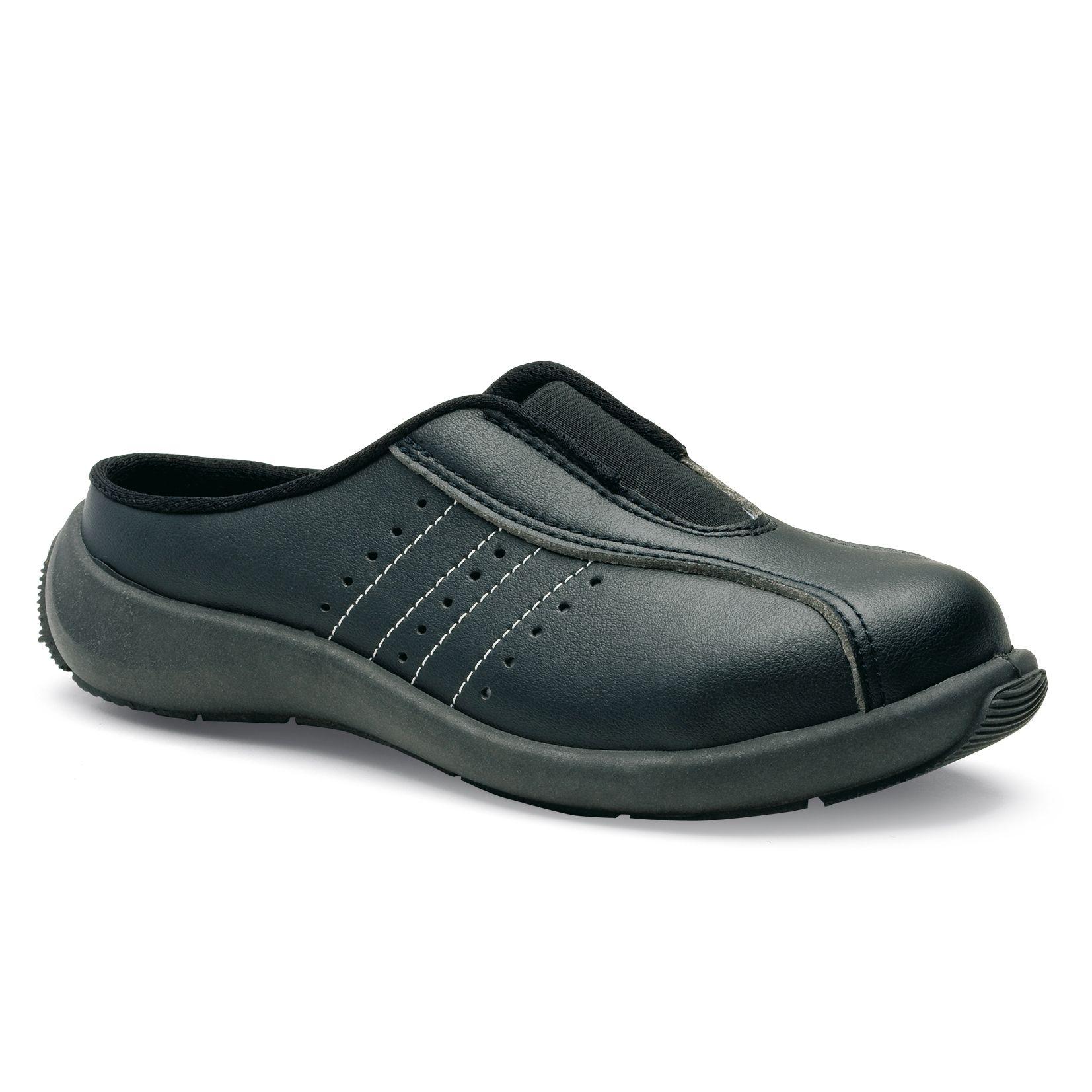 Chaussures de sécurité S.24 Ligne Executive Modèle Sofia noir Réf. 8032 • Tige cuir VERPELLE blanc • Doublure textile • Embout acier • Semelle anti-perforation inox • Semelle extérieure TPU light • Semelle intérieure SENSATION+