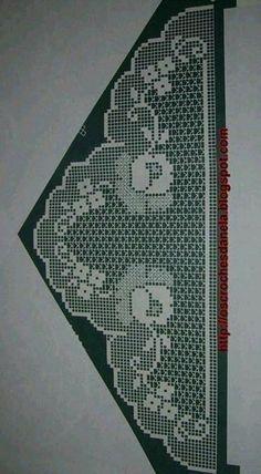 Interior Decorating Degree Program: Attend Online Classes 3 – Crochet Filet #filetcrochet