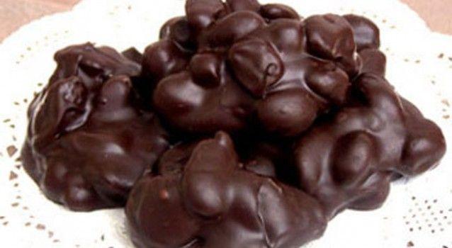 """Σοκολατάκια αμυγδάλου """"Double chocolate"""" με 3 υλικά!  """