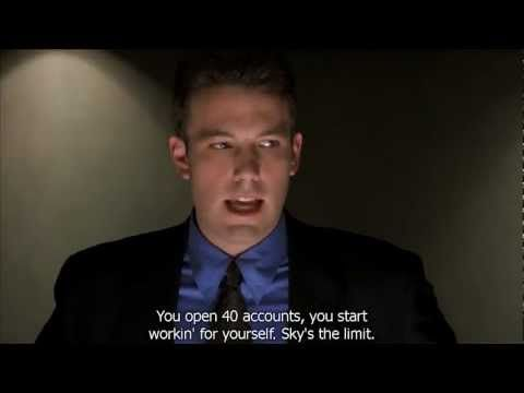 Ben Affleck S In Boiler Room Doing His Recruitment Speech Hd Youtube Ovaj Speech Je Odlican Jer Ga Ne Mozes Prestati Slus Videos Tutorial Ben Affleck Film
