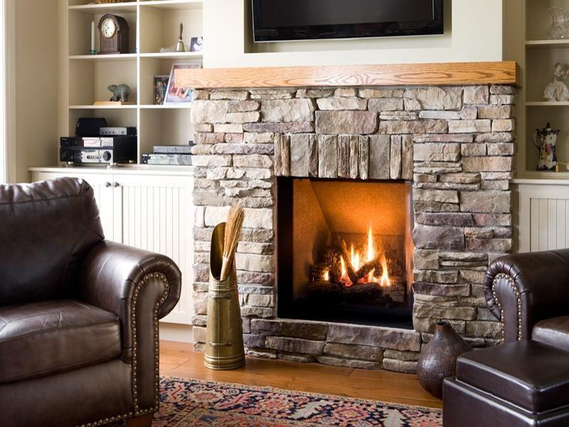 Wonderful rustic stone fireplaces home pinterest - Chimeneas de piedra ...