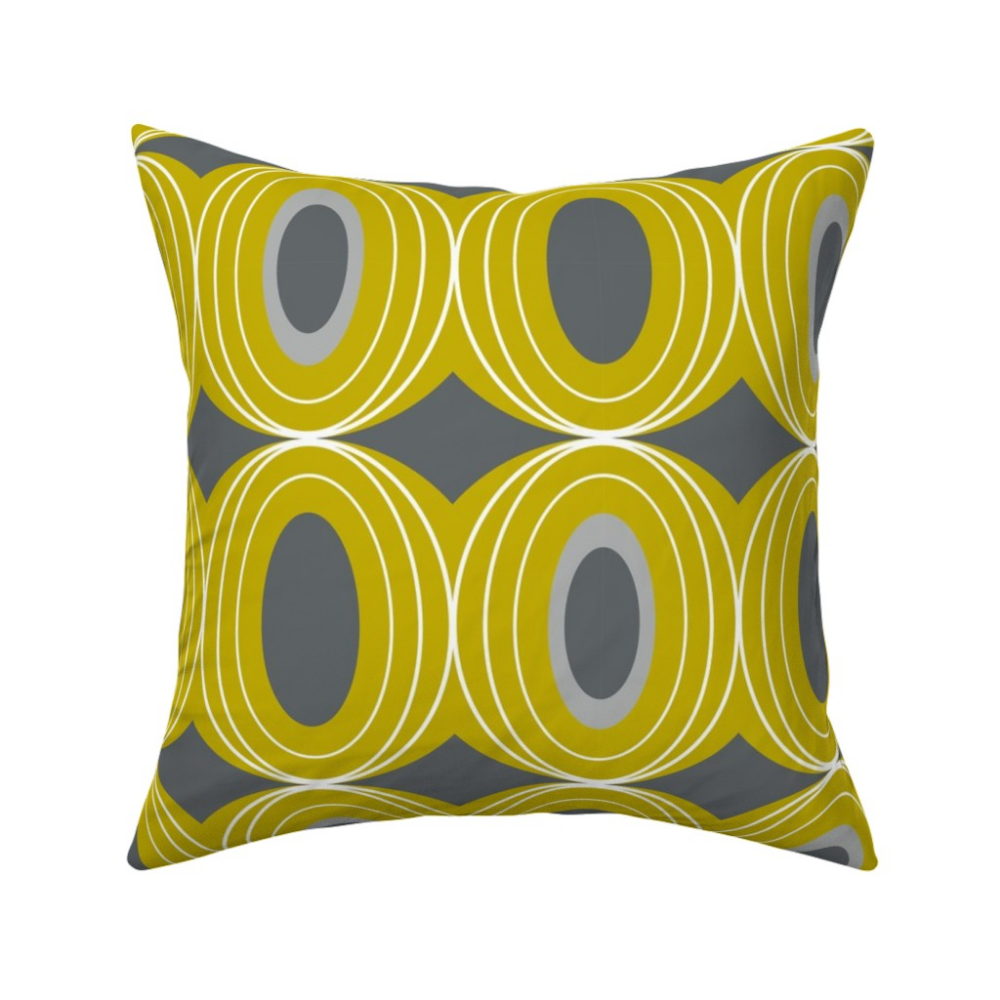 Chillout Retro Geometric Midcentury Modern On Catalan By Heatherdutton Roostery Home Decor Midcentury Throw Pillows Throw Pillows Pillows