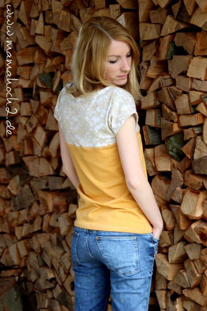 Modestoff Spitze: Dein Highlight im Sommershirt | Nähen Oberteile ...