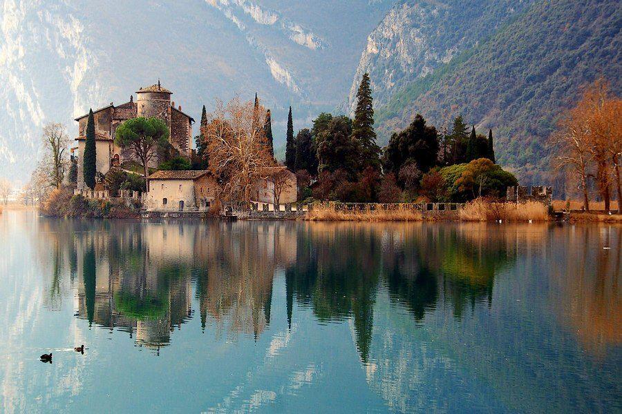 Castello Di Toblino Trentino Alto Adige Lago Paesaggi Laghi