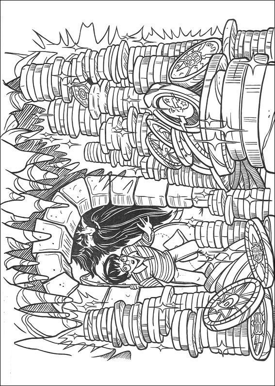 coloring page Harry Potter - Harry Potter | Colouring | Pinterest ...