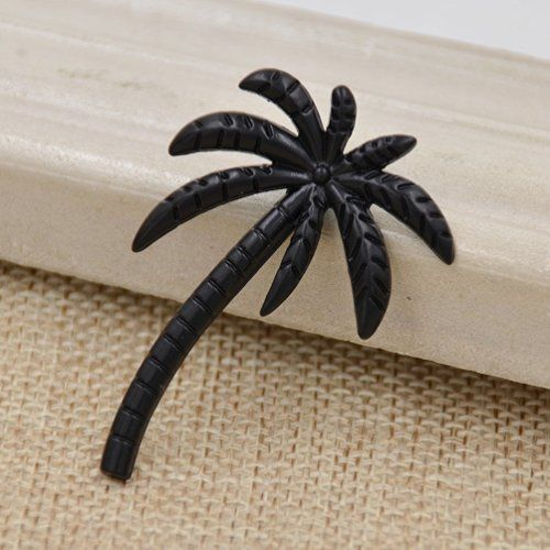 9600683684 Amazon.com  Mens Novelty Palm Shape Tie Clip Coconut Tree Tie Bar Clasp Clip