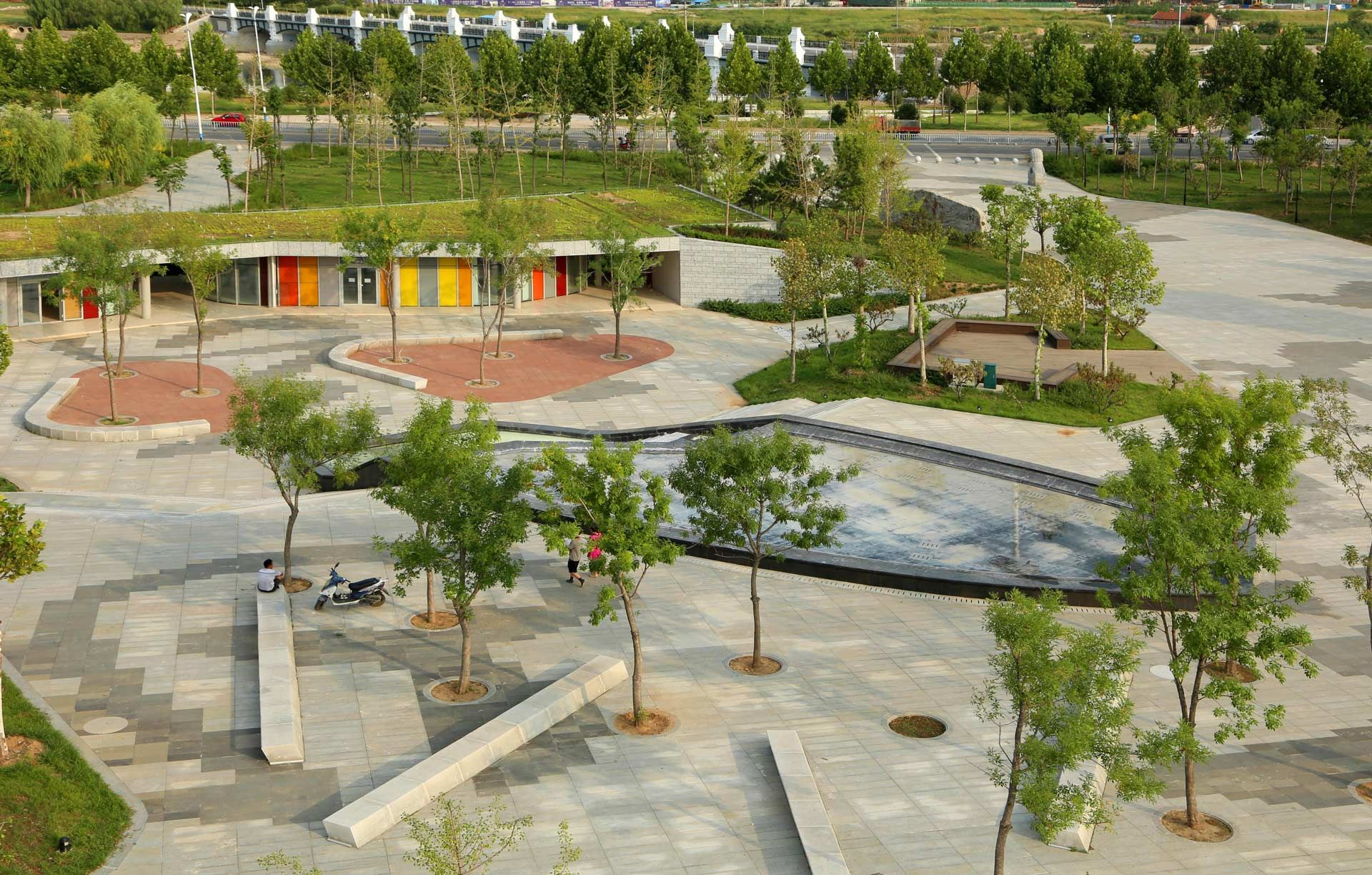 Cultural plaza park 13 landscape architecture works for Contemporary landscape architecture