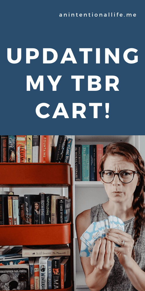 Updating My Tbr Cart Adding And Removing Books And Prompt Cards For My Tbr Cart Tbr Game Cards In 2020 Card Games Tbr Books