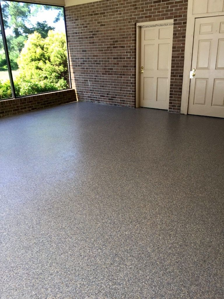 Epoxy Flake Garage Concrete Conversions Fayetteville Nc Concrete Patio Designs Concrete Decor Concrete Coatings
