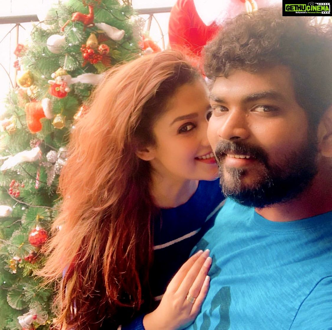 Nayanthara 2020 Christmas Pictures Actress Nayanthara & Vignesh Shivan Latest HD Pictures   Gethu