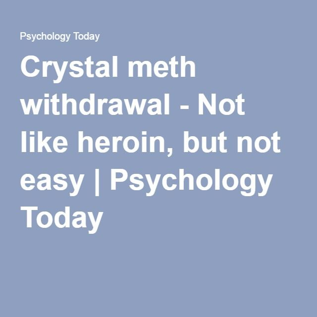 The 25+ best Meth withdrawal ideas on Pinterest | Xanax ...