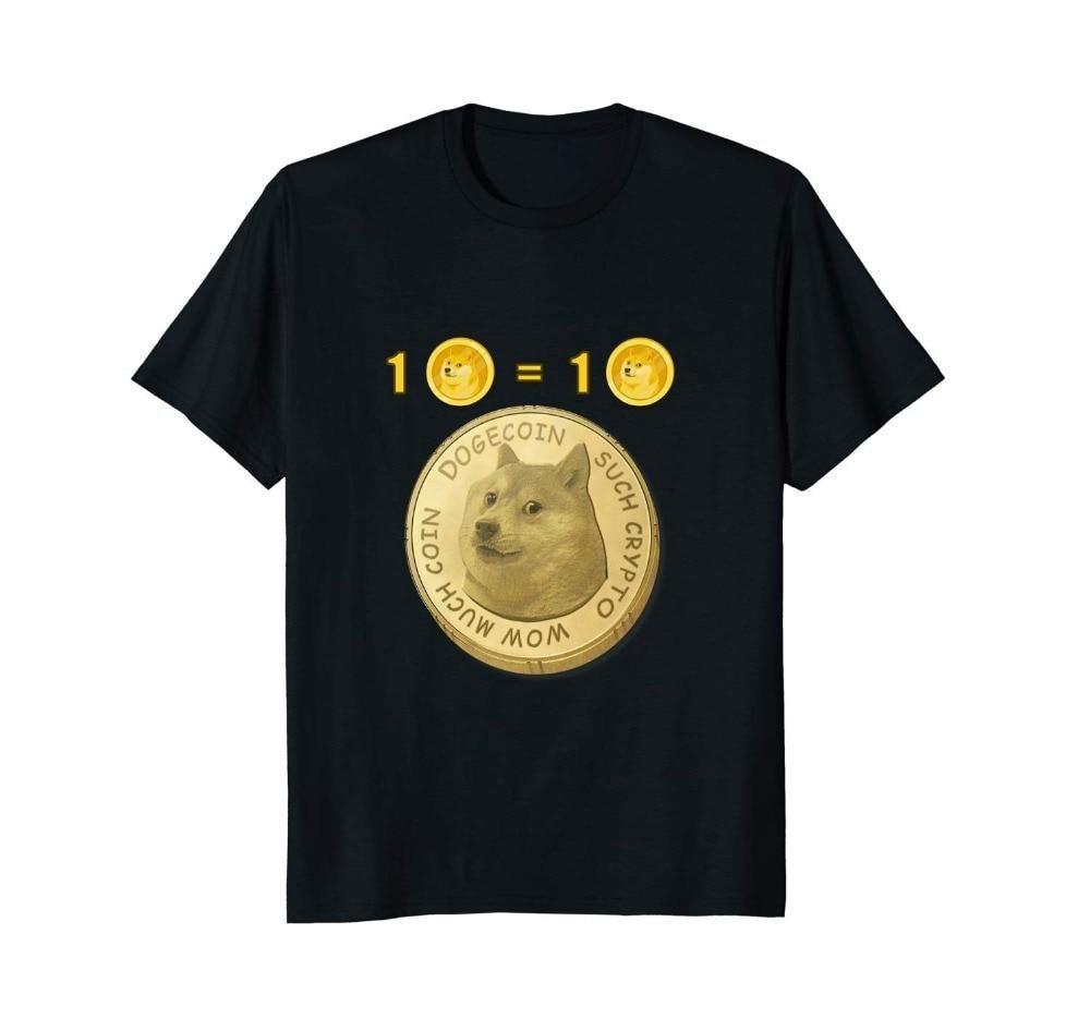 Dogecoin Moon Crypto Mens tops, Sleeve styles, Casual