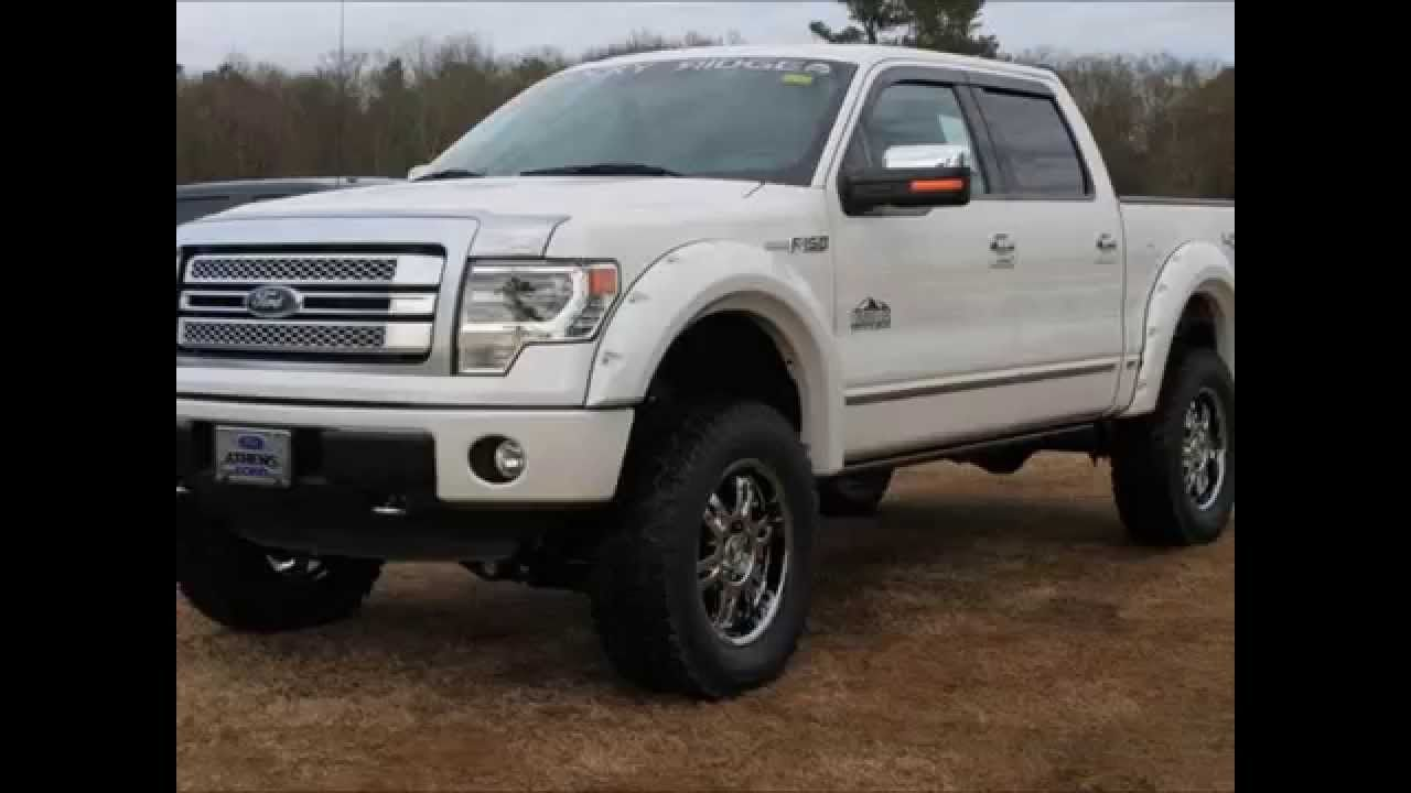 2013 F150 Platinum >> 2013 Ford F 150 Platinum Rocky Ridge Altitude Lifted Truck