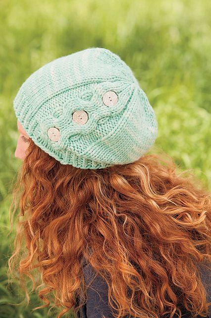 Veronica Slouch pattern by Brenda K. B. Anderson   Gorros, Damas y ...