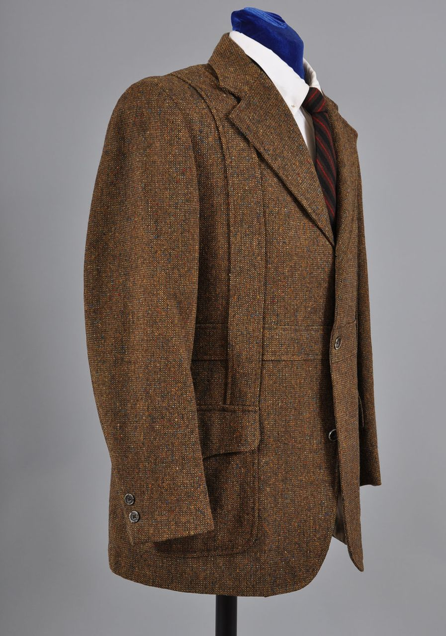 Superb english hucklecote norfolk tweed shooting hunting jacket 42
