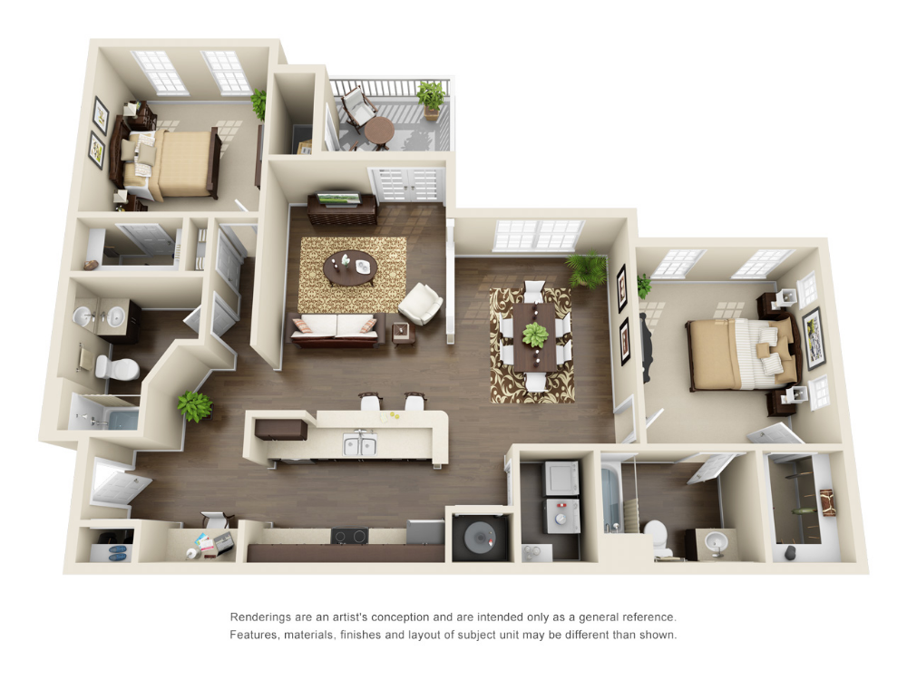 Luxury 1 2 And 3 Bedroom Suwanee Apartments For Rent Steadfast Apartment Rental Suwanee Georg Apartment Floor Plans Apartment Layout Model House Plan