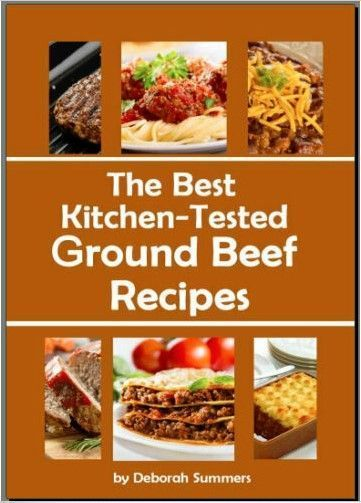Details about The Best Kitchen - Tested Ground Beef Recipes PDF EB00k 004B Fast Delivery images
