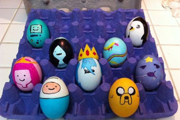 Egg Character Design Ideas : Top cartoon easter eggs custom design moresay video clips