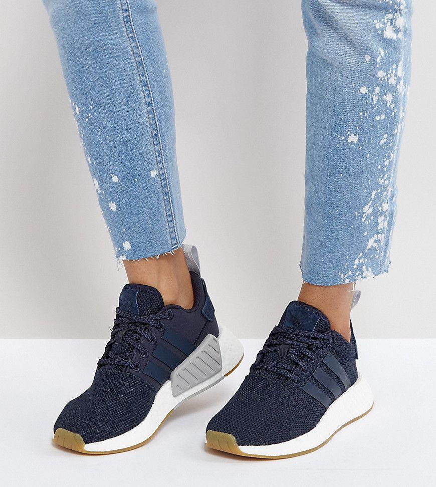 0cca924f3 ADIDAS ORIGINALS ADIDAS ORIGINALS NMD R2 SNEAKERS IN NAVY - NAVY.   adidasoriginals  shoes