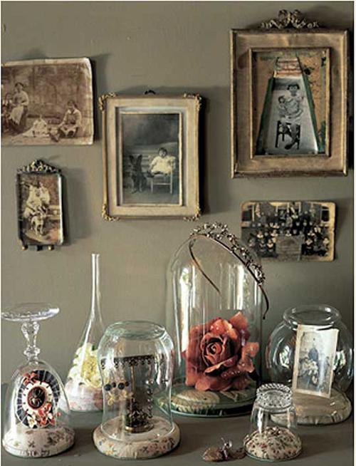 Diy bell jars mixed glass items pinterest