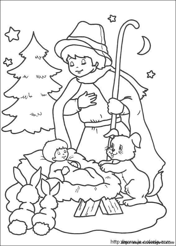 ausmalbild weihnachten krippe  tiffanylovesbooks