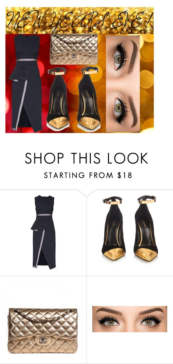 """nye"" by giovihoran05 on Polyvore featuring Lattori, Balmain, Chanel and nyestyle"