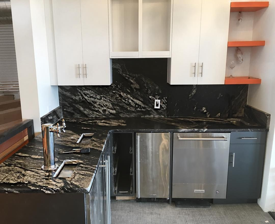 Supreme Black Caressed Granite How To Install Countertops Black