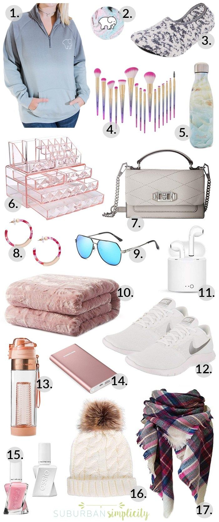 Christmas Gifts for Teen Girls - Suburban Simplicity