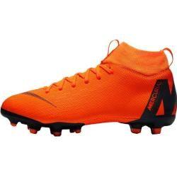 Nike Jungen Fußballschuhe Rasen / Kunstrasen Jr. Superfly 6 Academy (mg), Größe 38 ½ In Total Orange
