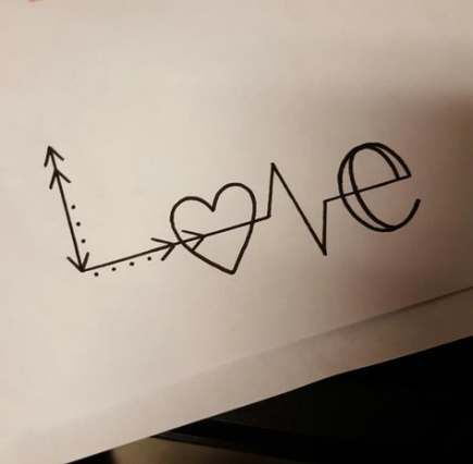 60+ New Ideas for drawing cute love simple #drawing in ...