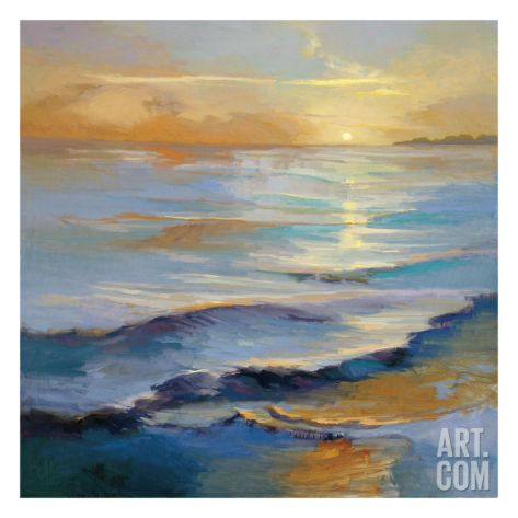 Ocean Overture Giclee Print by Vicki Mcmurry at Art.com