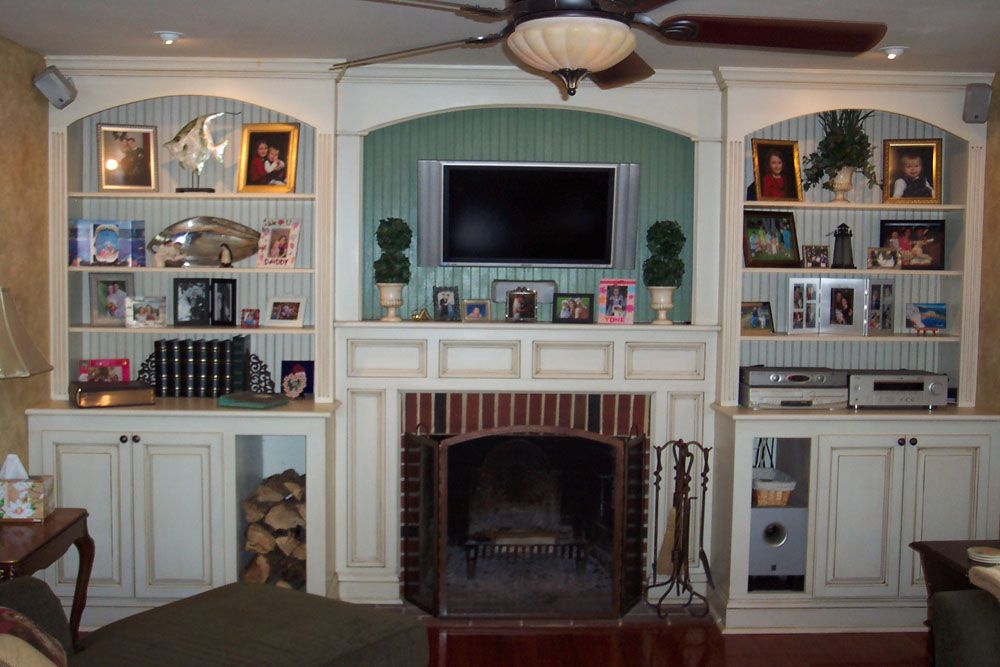 fireplace with built ins google search flamin