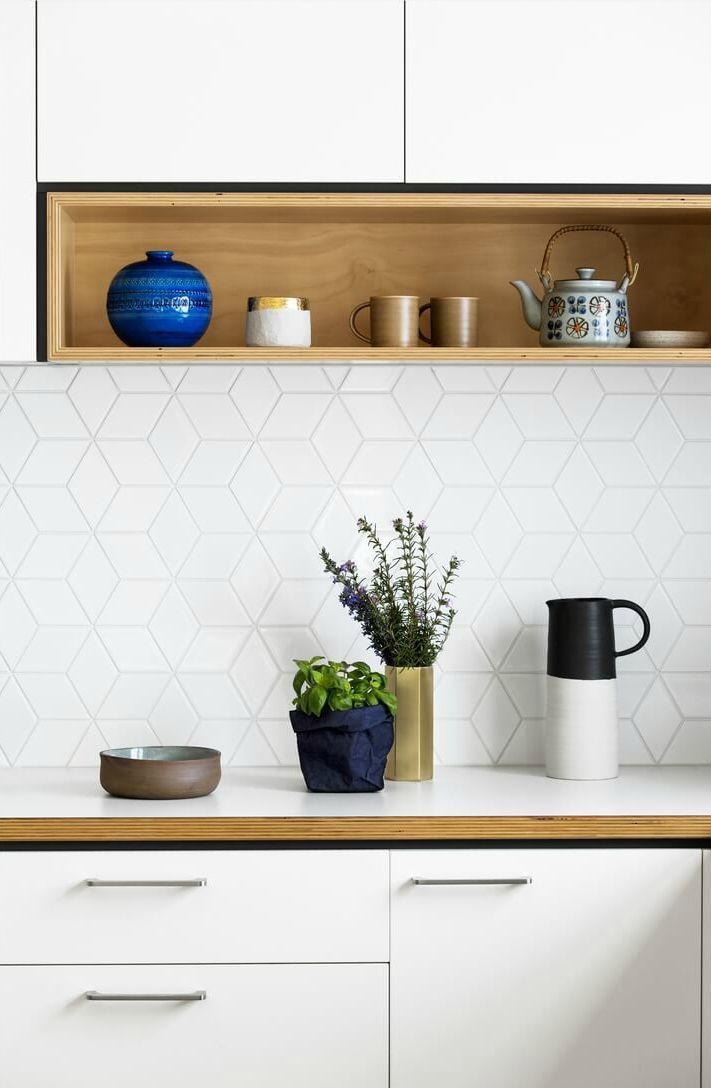 Fun Backsplash Patterns Your Kitchen Needs   Cucina // Kitchen Ideas ...