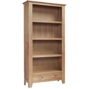 Harvey Ready Embled Large Bookcase Oak At Argos Co Uk Visit