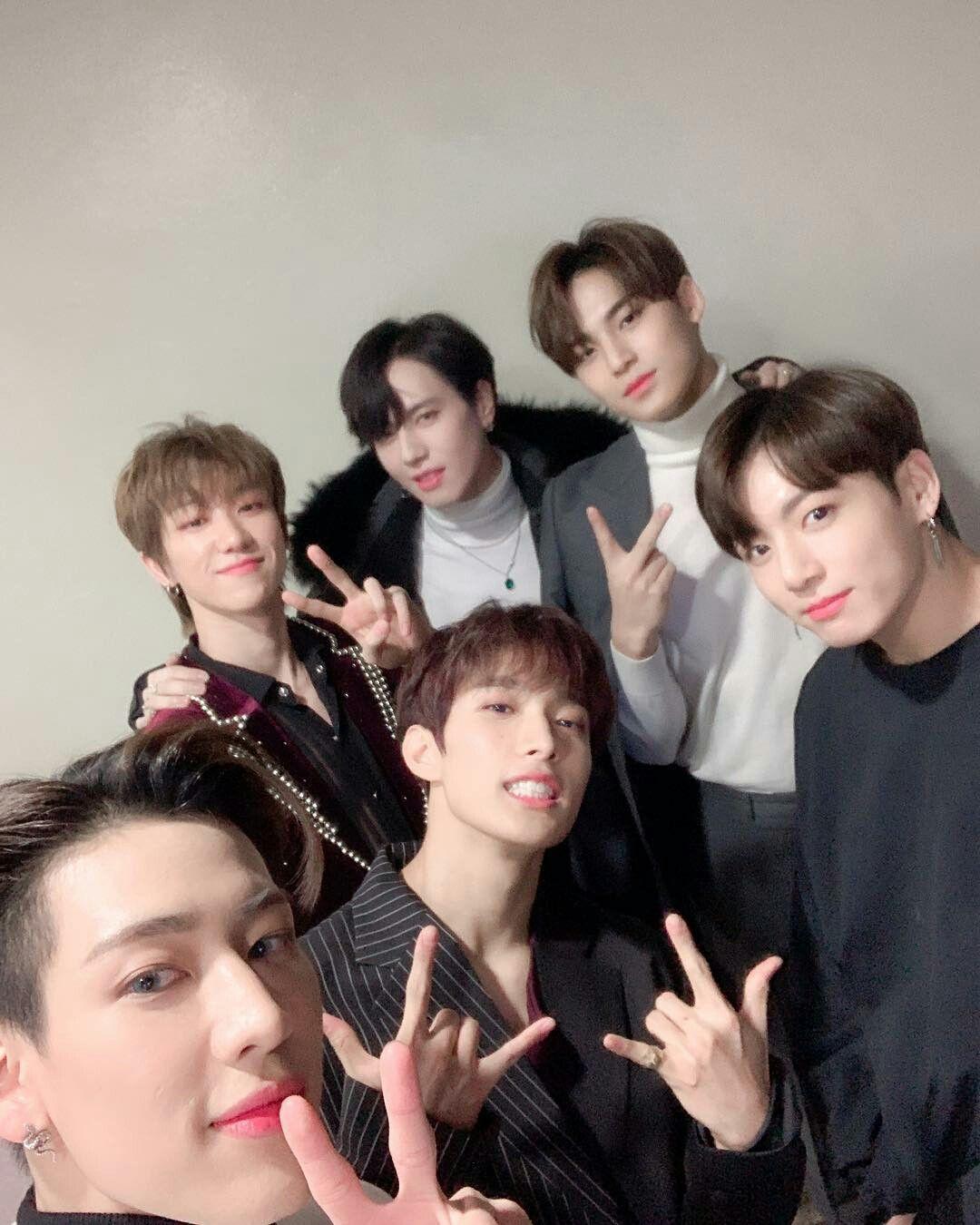 Bts Jungkook With Got7 Bambam Yugyeom Seventeen Mingyu The8