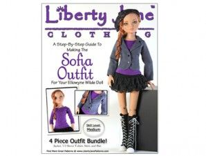 LJC Sofia Outfit For Ellowyne Wilde Dolls